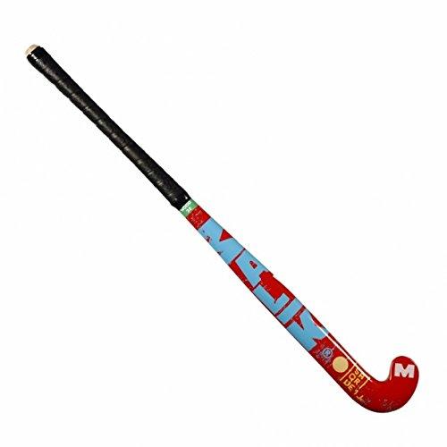 Malik Square1 Junior Wood Hockeyschläger für Kinder (grün/rot) -28