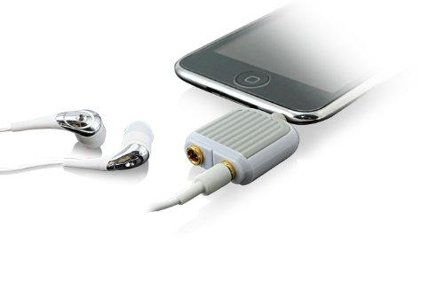DEXIM DWU042W Two-Way Audio Splitter for iPad, iPod, and iPhone (White)