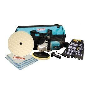 Makita MAK9227CX5 7 Polisher Value Pack With Tool Bag