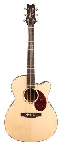 Jasmine Jo37Ce-Nat J-Series Acoustic-Electric Guitar, Natural