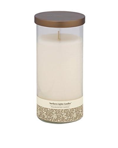 Northern Lights 24-Oz. Glass Pillar Candle, Evening Musk