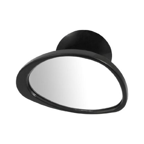 Amico Car Vehicle Exterior Side View Blind Spot Mirror Black