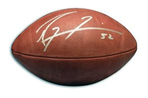 Ray Lewis Signed NFL Football