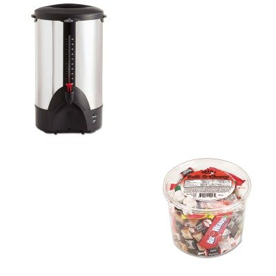 Kitofx00013Ogfcp50 - Value Kit - Coffee Pro 50-Cup Percolating Urn (Ogfcp50) And Office Snax Soft Amp;Amp; Chewy Mix (Ofx00013)