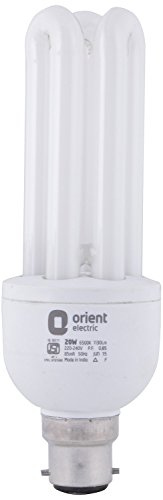 Orient 20 Watt CFL Bulb (White,Pack of 2) Image