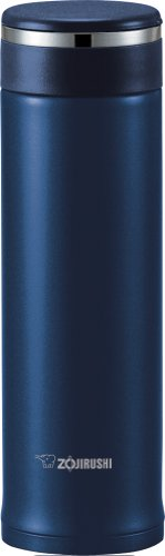 Zojirushi SM-JTE46AD Stainless Steel Travel Mug with Tea Leaf Filter, 16-Ounce/0.46-Liter, Deep Blue (Zojirushi Stainless Mug compare prices)