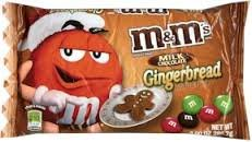Gingerbread M&Ms 2 Pack (2 x 9.90 oz bags)