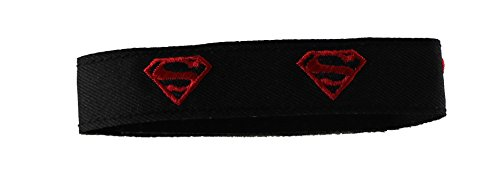 Application DC Comics Superboy Logo Fabric Wristband