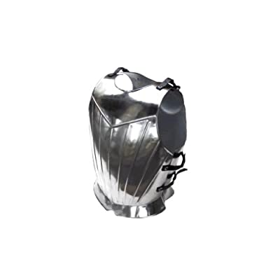Armor Venue Fluted Gothic Breastplate - Medieval Armor One Size - Silver