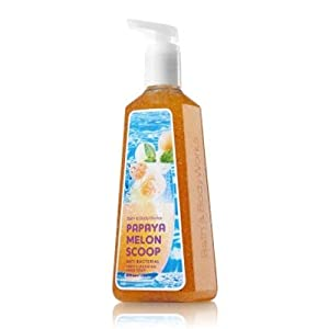 papaya melon scoop anti bacterial deep cleansing hand soap 8 fl oz