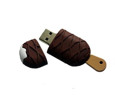 Kinobo USB Ice Cream 4GB - Food memory stick/drive for XP/Visa/Windows 7/Mac by Kinobo