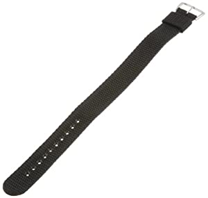 Timex Men's Q7B733 Performance Sport Wrap 20mm Black Replacement Watchband