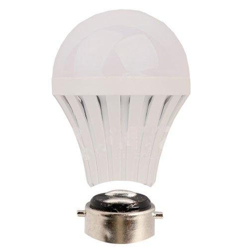 SmartDealsPro AC100-240V 3W 3000K Warm White B22 LED Lights Bulb Lamp 240 Lumen, 25W Incandescent Bulb Replacement Plus Free Cable Tie