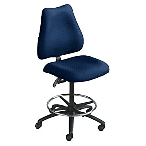 Heavy Duty Big And Tall Armless Drafting Stool Office Products