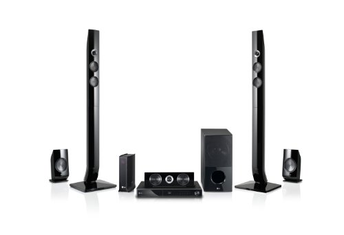 LG LHB976 1100W 3D Blu-ray Home Theater System with Smart TV and Integrated Wi-Fi and Wireless Rear Speakers