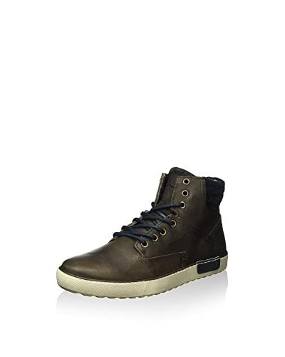 BULLBOXER Hightop Sneaker braun