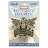 MOM Mother Travel Guardian Angel Visor Clip
