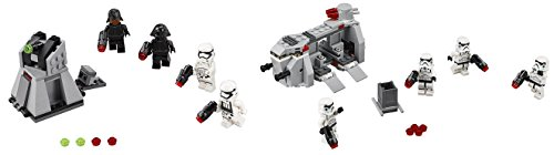 LEGO Star Wars First Order Battle Pack 88PCS & Imperial Troop Transport 141PCS Playsets Building Toys, 2 Pack (Imperial Battle Cruiser compare prices)