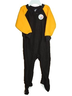 Pittsburgh Steelers Child Youth Baby Blanket Sleeper   Footed Pajamas at  Steeler Mania 6a1e95023
