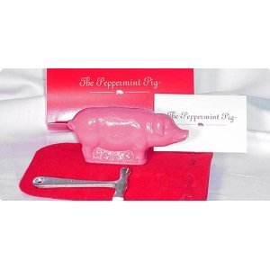 Peppermint Pig Gift Set With Hammer and Pouch