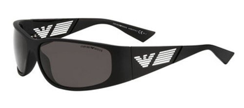 Emporio Armani Men's 9642 Black Frame Sunglasses