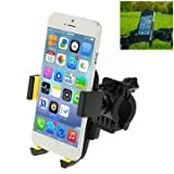 360 Degree Rotation Bicycle Phone Holder For IPhone 6 / IPhone 5 5C 5S / IPhone 4 4S, Clip Size: 45mm-72mm