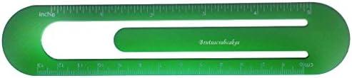 Bookmark  ruler with engraved name Brutuscrabcakes first namesurnamenickname