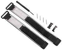 Garmin Wrist strap kit - Correa para dispositivo GPS portátil (Negro, Gris)