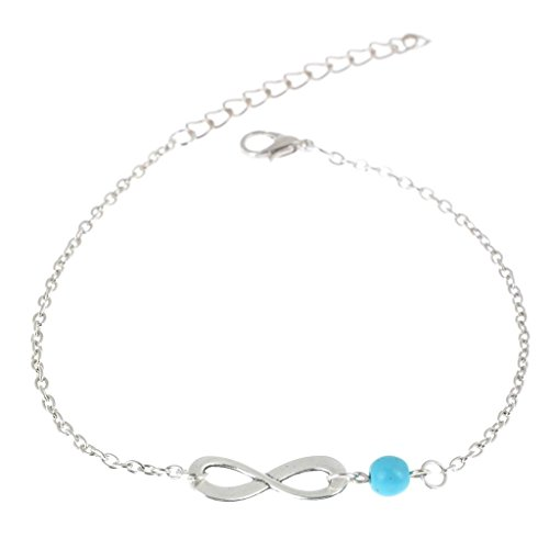 Yantu Elegant Multi-layer Chain Heart Bead Anklet