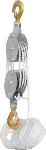 Images for Rope Pulley Block and Tackle Hoist