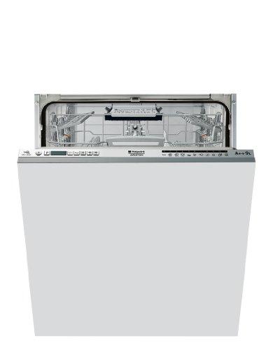Hotpoint LTF 11H121 EU Geschirrspüler Vollintegriert / A++ / 265 kWh/Jahr / 14 MGD / 2520 L/Jahr / 41 dB sehr leise / nur 9 L, 0,93 kWh / weiß
