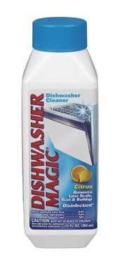 Dishwasher Magic Dishwasher Disinfectant And Cleaner 12 oz
