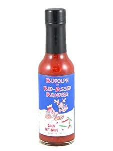 Rudolph The Red-assed Reindeer Cajun Cayenne Hot Sauce by Danny Cash Hot Sauce