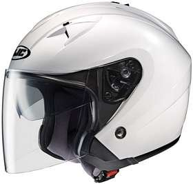 31Fy9tWZutL HJC IS 33 WHITE SIZE:LRG MOTORCYCLE Open Face Helmet Reviews