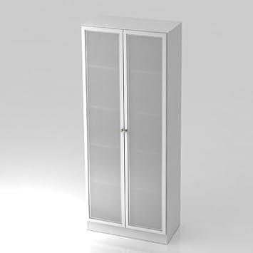Amstyle Armario puertas de cristal 6100g