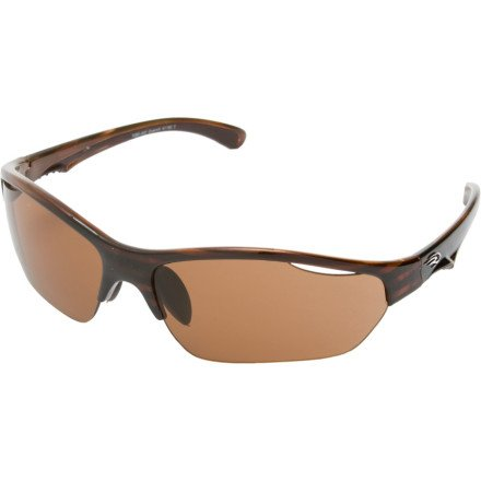 Ryders Eyewear Quench Sunglasses, Brown Stripe Frame/Brown Lens
