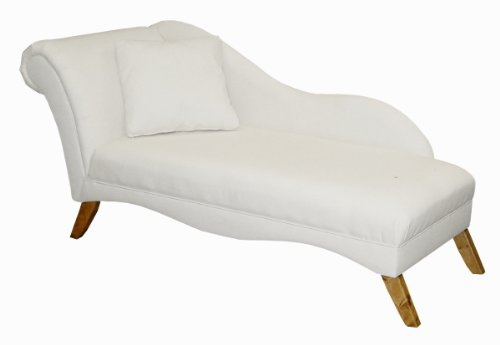 Skyline furniture for Alaina tufted chaise in white