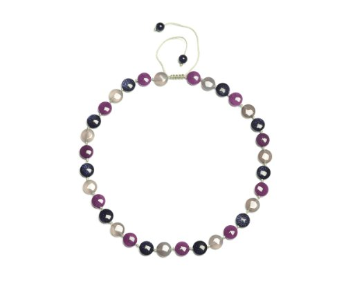 Lola Rose 'Violet' Multi Semi Precious Necklace