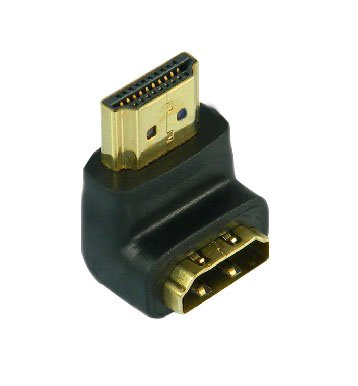 Mogoi(Tm) Hdmi M/F(Hdmi Male To Hdmi Female) 90 Degree Right Angle Adapter Connector Converter For Hd/Tv Tft Lcd With Mogoi Accessory Wire Winder