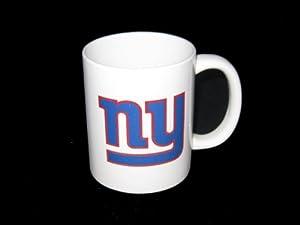 New York Giants NFL 11 oz. White Ceramic Coffee Mug
