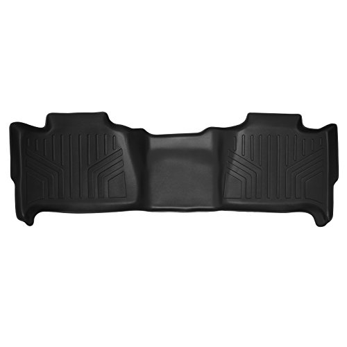 MAXFLOORMAT Floor Mats for Tahoe / Suburban / Yukon / Denali and XL Models (2007-2014) Second Row (Black) (2010 Gmc Yukon Denali Floor Mats compare prices)