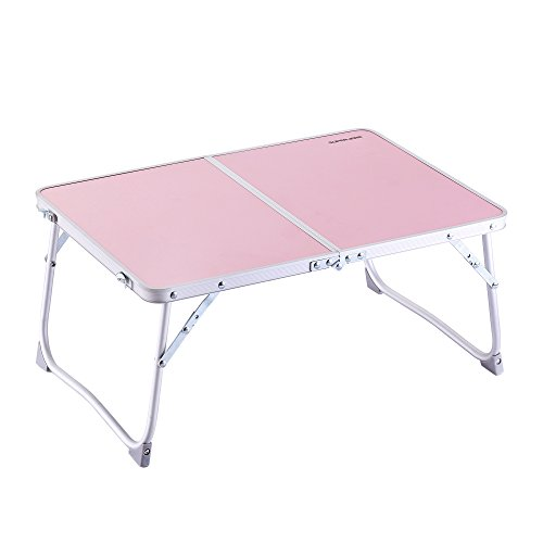 Superjare Folding Laptop Desk Breakfast Table Bed Tray Pink (Study Tray compare prices)