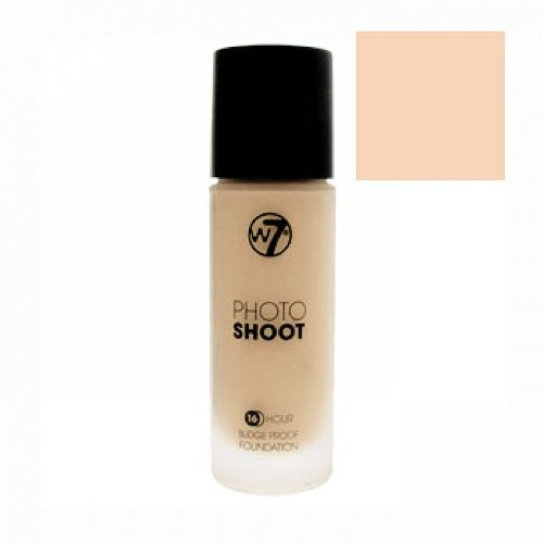 W7 Photo Shoot 16 Hour Budge Proof Foundation - Sand Beige Reviews