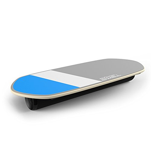 Balance Board Exercises For Surfing: NEW Surf & Paddle Balance Board Trainer Blue Gray FREE