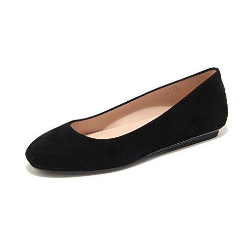 7872L ballerina donna nero TOD'S fondo gomma scarpe shoes women [36]