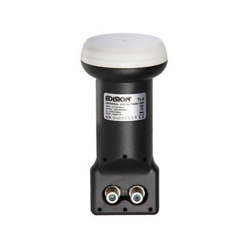 Edision EDI-TL2 universal LNB Twin Adapter (0,1dB, HDTV, Full HD)