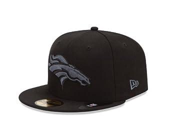 NFL Denver Broncos Black & Gray Basic 5950 Fitted Cap by New Era