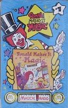 Ronald Makes It Magic 1994 Music Cassette McDonald`s Kids Meal Toy - 1