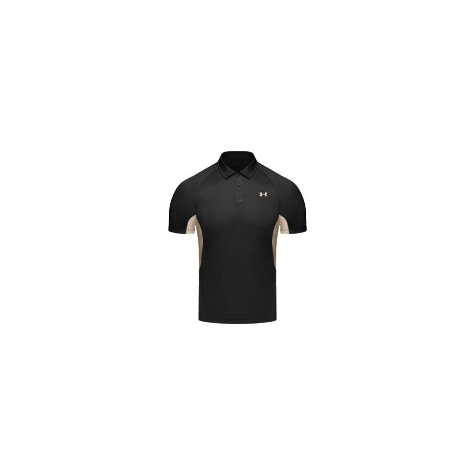 Under Armour Mens Golf Heat Gear Polo Shirt With Upf Uv Protection
