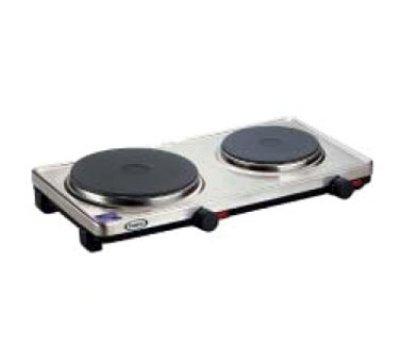 Cheap Cadco DKRS2 – Counter Buffet Range w/ Double Burner, Infinite Controls, 120 V (B007TT25G2)